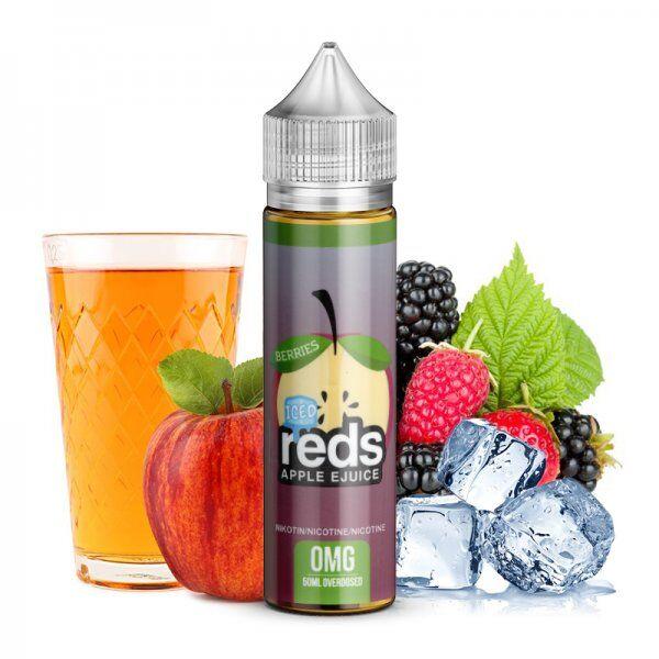 Liquid 7 DAZE - Reds Apple Juice Berries Ice
