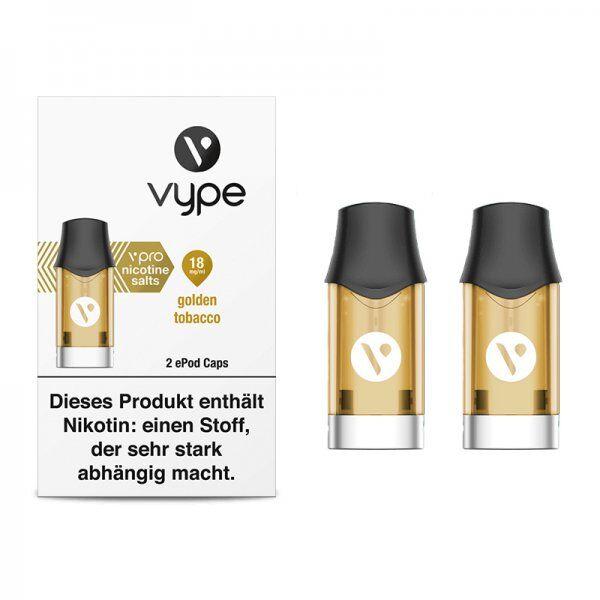 Liquid Golden Tobacco Caps