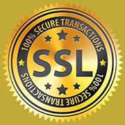 Ihre Daten sind sicher dank 256 Bit SSL