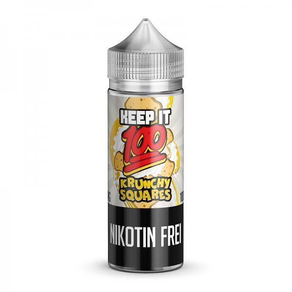 Keep it 100 - Krunchy Squares Liquid 100ml