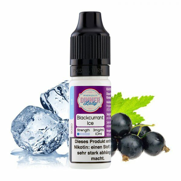 Liquid Blackcurrant Ice 50/50