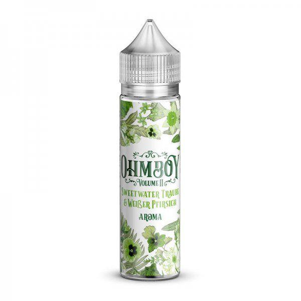 Ohmboy - Sweetwater Traube & Weißer Pfirsich Aroma 15ml