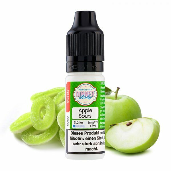 Liquid Apple Sours 50/50