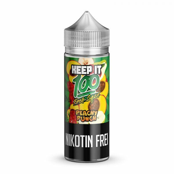 Keep it 100 - Peachy Punch Liquid 100ml