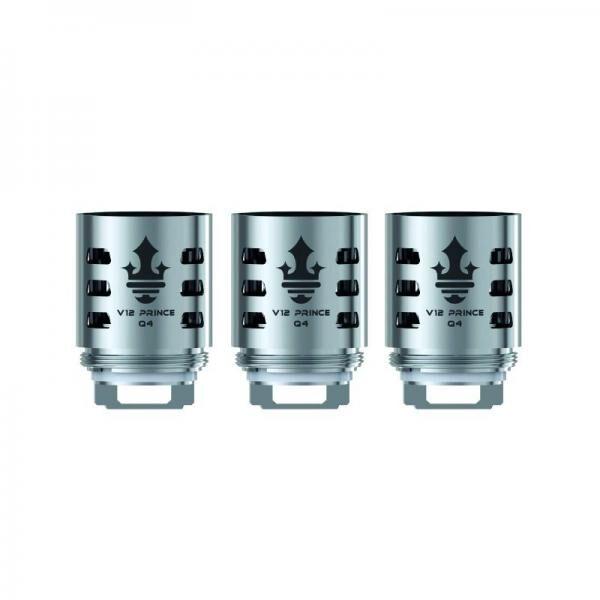SMOK - TFV12 Prince-Q4 0,4 Ohm Verdampferköpfe (3er Pack)