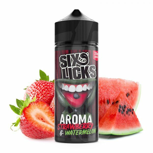 Six Licks - Strawberry Watermelon Aroma 20ml