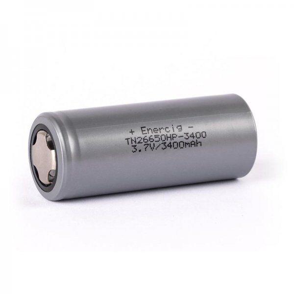Enerpower (Enercig) TN 26650HP-3400mAh 3,6V - 3,7V (High Drain - 30A - 9C)