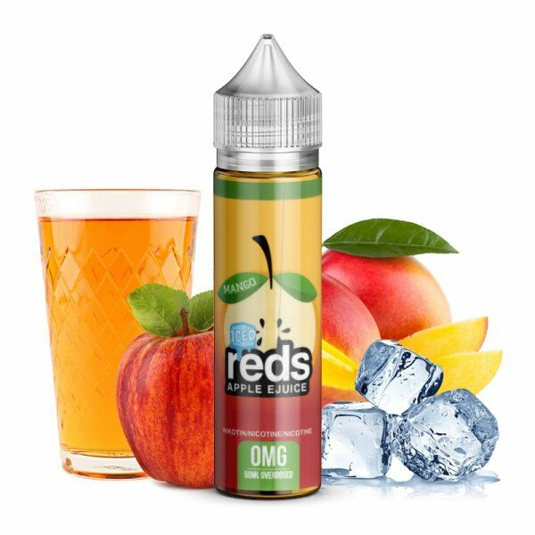 Liquid 7 DAZE - Reds Apple Juice Mango Ice
