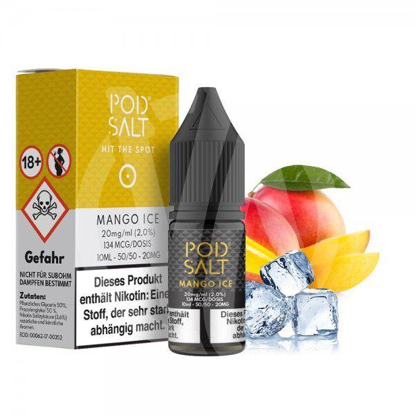 Pod Salt - Mango Ice Nikotinsalz 10ml